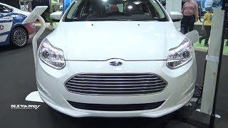 2018 Ford Focus Electric Hatchback - Exterior And Interior Walkaround - 2018 Montreal EV Show