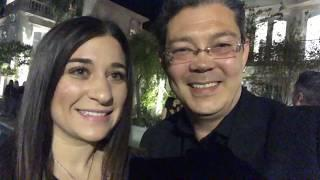 Christophe Choo Inman News Luxury Connect Real Estate opening night reception party in Bel Air