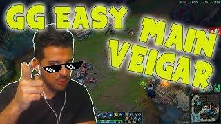 MAIN Veigar vs Lux | GG Easy | Nicht im stehen schei*en - Season 8 Ranked LoL Gameplay (Deutsch)