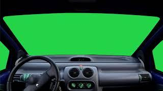 Free Stock HD   Green Screen Car