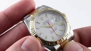 Rolex Datejust Turn-O-Graph 116263 Luxury Watch Reviews