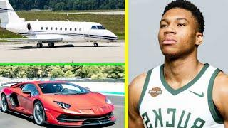 Giannis Antetokounmpo Luxurious Car Collection And Private Jet