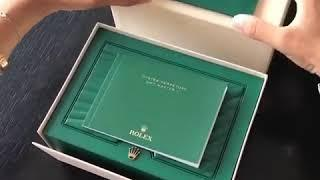 Rolex Watch Unboxing /Luxury LifeStyle