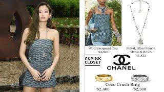 Blackpink Jennie's Luxury Outfits At Global Event Of Chanel New Perfume 2018