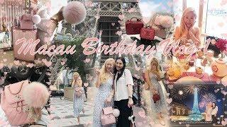 VLOG - MY 30TH BIRTHDAY IN MACAU ???????? PART 1 ❤️ GIRLY LUXURY SHOPPING DATE WITH ANGEL ??????????