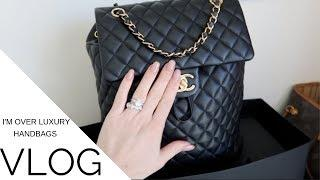 I'M OVER LUXURY HANDBAGS Vlog   Jerusha Couture