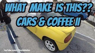 Cars & Coffee II - A Car I've Never Heard Of!!s,