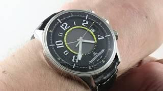 Jaeger-LeCoultre Amvox R-Alarm (PLATINUM!) Q1916410 Luxury Watch Review
