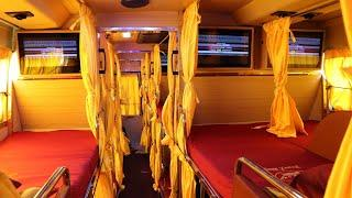 Premium Sleeper Bus from Ashok Leyland Veera | Tranz King Travels Luxury Bus | Rishabh Chatterjee