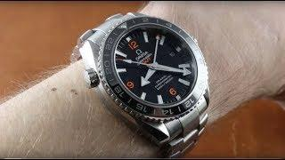 Omega Seamaster Planet Ocean GMT 232.30.44.22.01.002 Luxury Watch Review