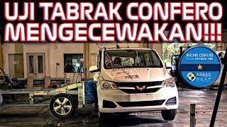 UJI TABRAK RESMI WULING CONFERO ASEAN NCAP CUMA BINTANG SATU