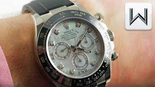 Rolex Daytona Oysterflex (116519LN) Cosmograph Daytona Chronograph Luxury Watch Review