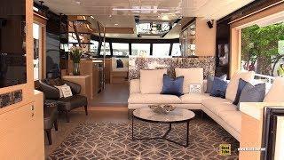 2019 Horizon V68 Luxury Yacht - Deck and Interior Walkaround - 2018 Fort Lauderdale Boat Show
