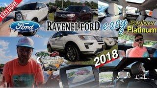 ???? NEW 2018 Ford Explorer PLATINUM 4x4 - IN DEPTH REVIEW | $56,000 American Luxury Midsize SUV