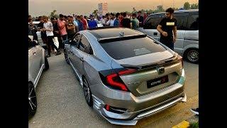 | Honda Civic X Modified | Honda Civic Fc5 | Pakwheels Sialkot Auto Show |