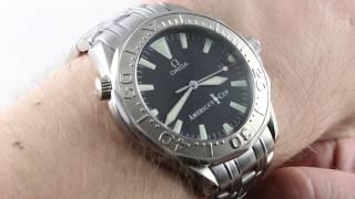 Omega Seamaster 300m America's Cup Limited Edition 2533.50.00 Luxury Watch Review