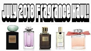 July 2018 Fragrance Haul   Niche, Designer, Luxury Perfume