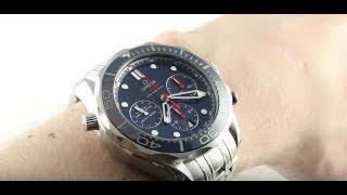 Omega Seamaster Diver 300m Co-Axial Chronograph 212.30.44.50.03.001 Luxury Watch Review