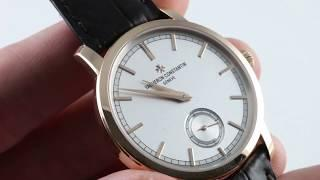 Vacheron Constantin Patrimony Traditionnelle 82172/000R-9382 Luxury Watch Review