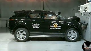 Land Rover Range Rover Evoque Crash test