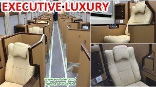 REVIEW Interior Kereta MEWAH Executive Luxury Sleeper Class, Serasa Naik Bussiness Class PESAWAT