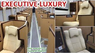 REVIEW Interior Kereta MEWAH Executive Luxury Sleeper Class, Serasa Naik Bussiness Class PESAWAT