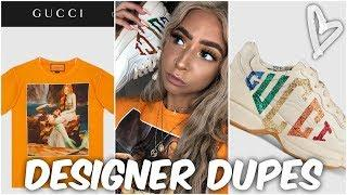 BOUJEE ON A BUDGET: Gucci Clothes For Cheap! | DopestKicks | Lexi Luxury