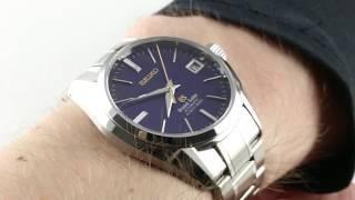 Grand Seiko Hi-Beat 36000 SBGH051 Luxury Watch Review