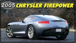 2005 Chrysler Firepower Concept - The Luxury GT Coupe Chrysler Needed to Battle Corvettes!