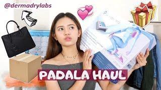 PADALA HAUL (fake reaction??) ft. luxury bag, skincare, sweaty underarm solution etc.