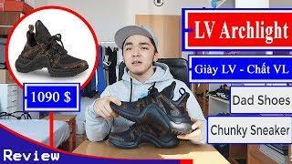 Review LV Archlight. Có đáng 1090$? Hộp giày LUXURY có gì? - Giày LV, chất VL - Only Authentic
