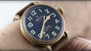 Zenith Pilot Type 20 Extra Special BRONZE Luxury Watch Review