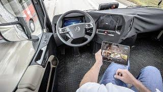 2019 Volvo Self Driving Truck - Perfect Autonomous Car !!