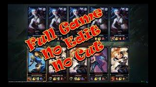 Lux vs Jinx all for one-  League of Legend (Full Game No Cut)