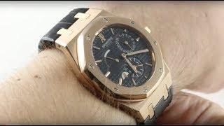 Audemars Piguet Royal Oak Dual Time 26120OR.OO.D002CR.01 Luxury Watch Review