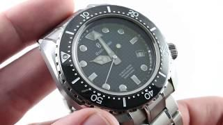 Grand Seiko Hi-Beat 36000 Diver 600m SBGH257 Luxury Watch Review