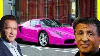 Sylvester Stallone's Cars vs Arnold Schwarzenegger's Cars 2018 LUXURY LIFESTYLE