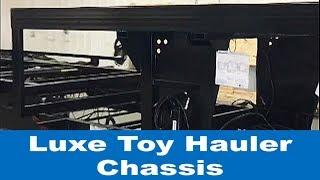 Luxe luxury Toy Hauler Chassis