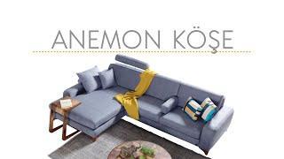 Anemon Köşe Koltuk Takımı Luxe Life Mobilya