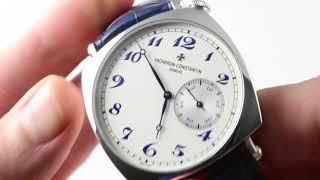Vacheron Constantin American 1921 (PLATINUM) Historiques  (82035/000P-B168) Luxury Watch Review
