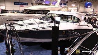 2018 Cruisers Yachts 45 Cantius Luxury Motor Yacht - Walkaround - 2018 Toronto Boat Show
