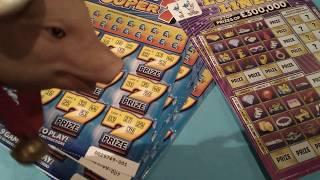 New Scratchcard game starts..Luxury Lines Vs Super 7's..(Monday game)
