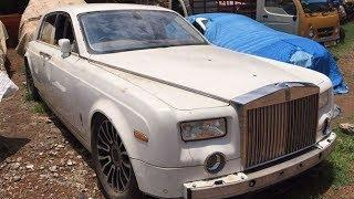 Exotic and Luxury Cars Abandoned in India