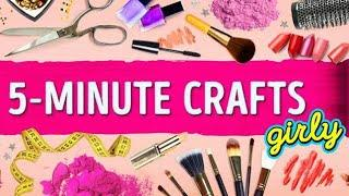top 12 ideas of 5 minute crafts girly | mix diy