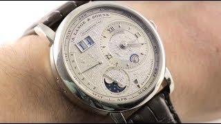 A. Lange & Sohne Lange 1 Tourbillon Perpetual Calendar Handwerkskunst  (720.048) Luxury Watch Review