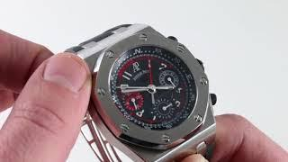 Audemars Piguet Royal Oak Offshore Alinghi Polaris 26040ST.OO.D02CA.01 Luxury Watch Review