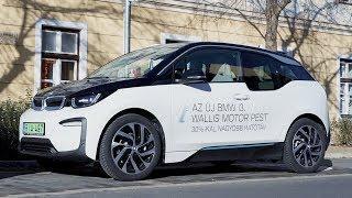 BMW i3 120 Ah téli teszt (42,2 kWh)