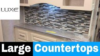 Large Countertops - Luxe Gols 35GRS - 36 foot