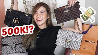 UMABOT NG 500,000 PESOS!? DESIGNER LUXURY BAGS HAUL! watch til the end! | Toni Sia