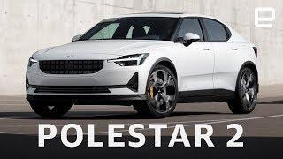Polestar 2 First Look at Geneva Motor Show 2019